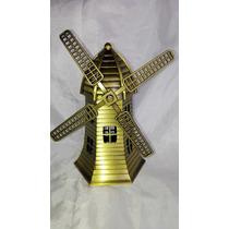 Figura Réplica Molino De Viento Holandaescala Metal