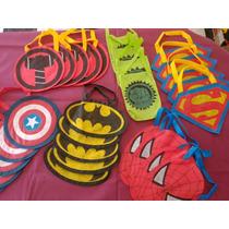 Bolsitas Golosineras De Super Heroes