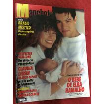 Revista Manchete Elba R Mauricio Fafá De B Gilberto F Rambo