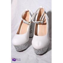 Sapato Importado Para Noiva Super Luxo E Requinte