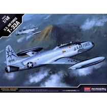 Aeromodelo 1/48 Kit Força Aérea Dos Eua T-33a Novo