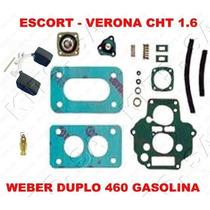 Kit Reparo Carburador Escort/verona Cht 1.6 Weber Duplo 460