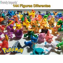 Pokemon 144 Figuras Lote Envío Inmediato Azar Juguetes Go