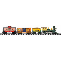 Tren Lionel G-gauge Crayola Locomotor Vagon Vias Control