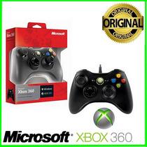 Controle Xbox 360 Sem Fio Wireless Microsoft Novo Original