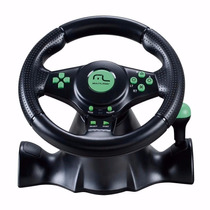 Volante 4 Em 1 Xbox360 Ps2 Ps3 E Pc Multilaser