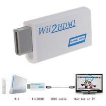 Convertidor Adaptador Wii A Hdmi 720p/1080p