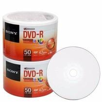 50 Dvd-r Sony 16x Printable. Original !