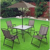 Juego se sillas y mesa para jardin en mercado libre m xico for Juegos de living para jardin