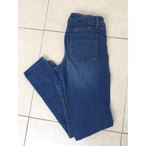 Jeans Mezclilla Mossimo Denim Azul Claro Deslavado 8 Entubad