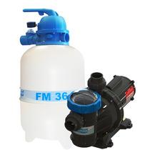 Filtro Sodramar Fm-36 C/ Bomba 1/3 Cv P/ Até 43 Mil Litros