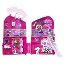 Juguete Barbie Mini B Take-a Lo Largo Del Salón Playset