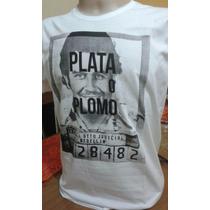 Camisetas Sergio K | Pablo Escobar | Blusa | Lacoste