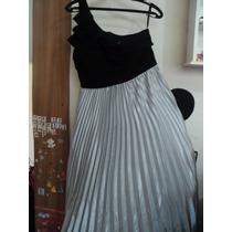 Oferta!!! Elegante Vestido De Noche Talla 30 Nikki Italy