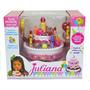 Juliana Torta Musical Con Luz Cumpleaños Con Invitaciones