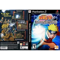 Naruto Uzumaki Chronicles Ps2 Patch Frete Unico