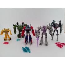 Transformers Prime Optimus, Megatron, Bumblebee