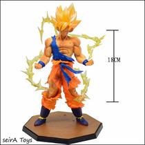 Figura De Goku Pvc Super Sayayin. Dragon Ball. Entrega Inmed