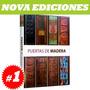 Enciclopedia De Puertas De Madera 1 Tomo, Nuevo Y Original