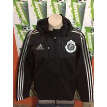 Chamarra Adidas Chivas D Guadalajara 100%original Impermeabl