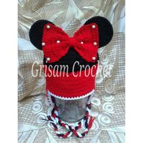 Gorro Tejido Mini Y Micky Mouse