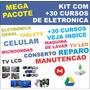 Promoção Mega Pacote Varios Cursos De Eletrônica - Completo