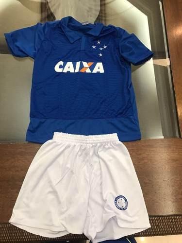 f9f27d3da8 Kit Infantil Cruzeiro Camisa + Calçao + Meião - R  66