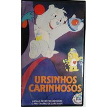 Vhs Ursinhos Carinhos - Original -dublado -1987-mundo Mágico