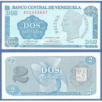 * Venezuela Billete 2 Bolivares 1989 P. 69