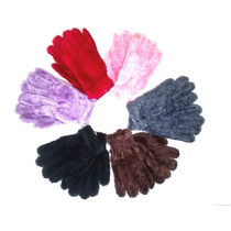 Luva Colorida Feminina De Inverno Luxo De Frio - Importada