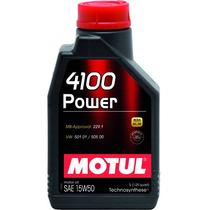 Óleo Motul 4100 Power (semi-sintético) 15w50 1litro