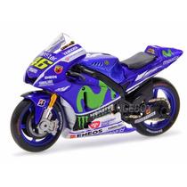 Yamaha Yzr-m1 46 Moto Gp 2015 Movistar Valentino Rossi 1:18