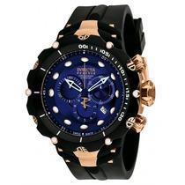 Relógio Invicta Reserve Venom 1525 Azul Rose - Completo