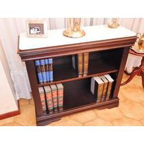 Antigua Biblioteca Estilo Ingles Marmol Carrara Subasto