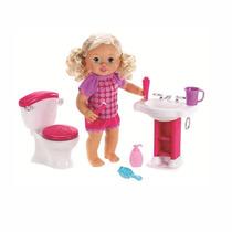 Bebita Interactiva Hora De Ir Al Baño Little Mommy X4125