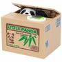 Alcancia Panda Y Gato Coin Bank Importado