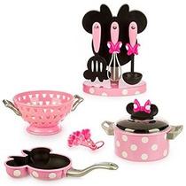 Disney Minnie Mouse Set De Cocina Gourmet