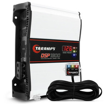 Modulo Taramps Dsp 1600 1600w Rms 4 Ohms Com Voltimetro Som