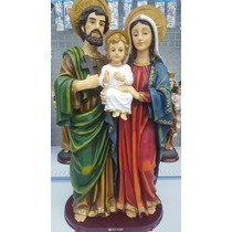 Imagem Sagrada Família 90 Cm Resina Di Ângelo 556 03132