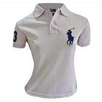 Camisa Gola Polo Feminina Envio Imediato