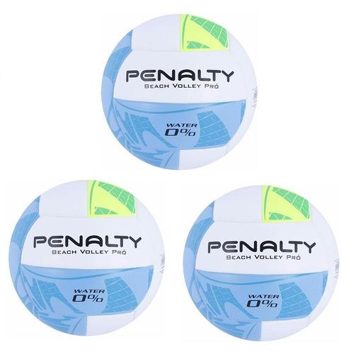 Kit 03 Bolas De Beach Volei Pro Penalty - Volei De Praia - R  649 c2707341fbe92