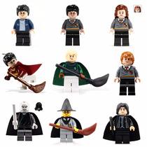 Harry Potter Hermione Ron Kit Com 9 Lego Compatível