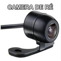 Câmera Re Borboleta Preta Automotiva Techone Flex Carro