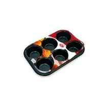 Molde Placa 6 Muffins, Cupcackes, Pan.. Once (envíos)