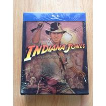 Indiana Jones Complete Adventures Las 4 Películas En Blu-ray