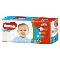 2 Huggies Natural Care Ellos Talle Xxg Hiperpack 88 Pañales