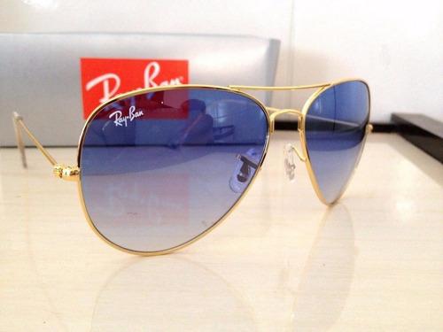Óculos De Sol Ray Ban Aviador Lentes Degrade - R  160,18 em Mercado ... 8c015f5cff