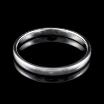 Promoção Aliança Em Prata Legítima Namoro Compromisso Fina