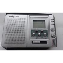 Radio Midi Japan Md-9500sd Fm-mw-sw1-7 Digital Receiver