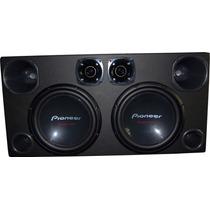 Pioneer Caixa Tsw310 Sub Corneta E Twt Cara Preta Super Trio